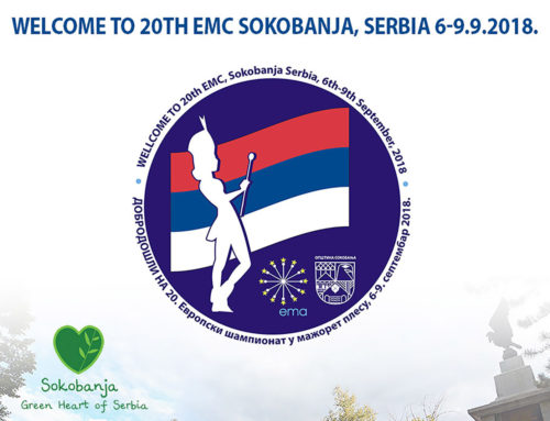 European championship of majorettes in Sokobanja
