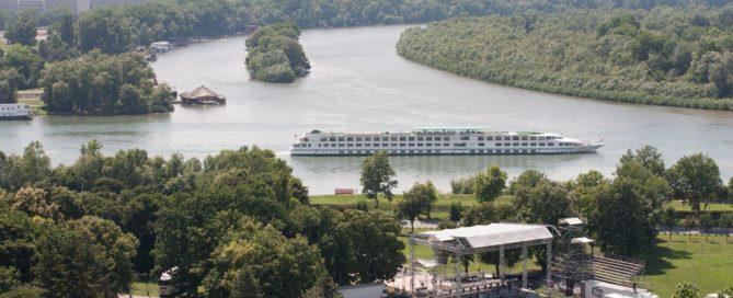 Beograd, ušće Save u Dunav