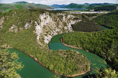 Meanders of Radoinjsko jezero