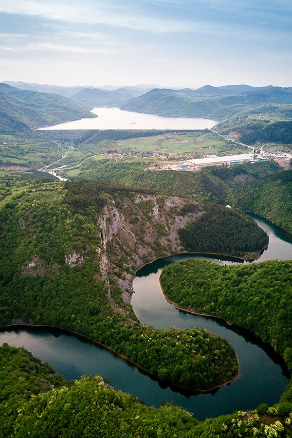 Meandri Radoinjskog jezera