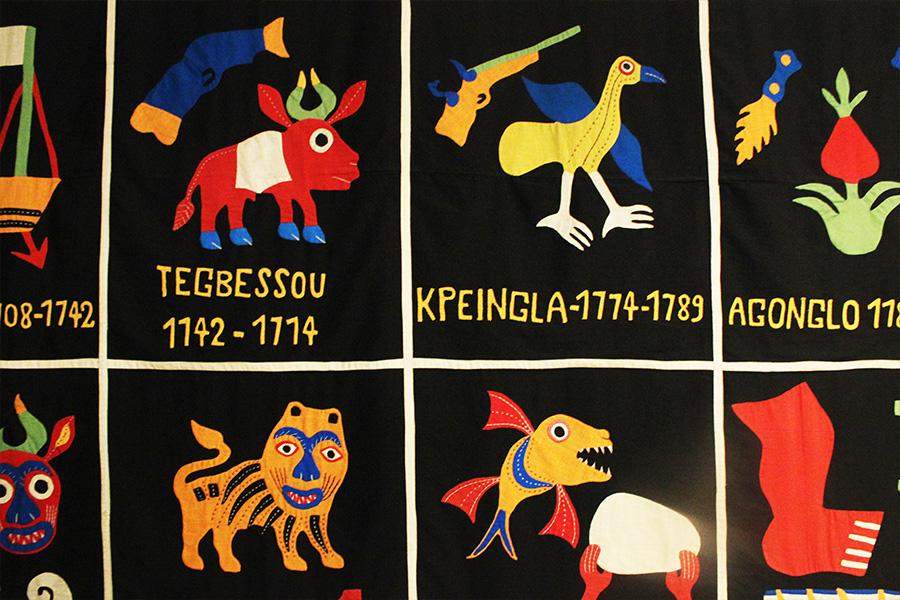 Muzej afričke umetnosti, tkanine