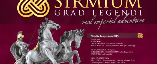 III Festival Carski Sirmijum – Grad legendi