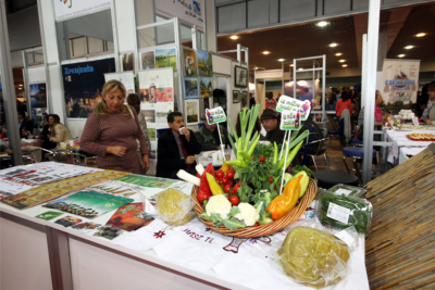 Exhibition of food and drinks