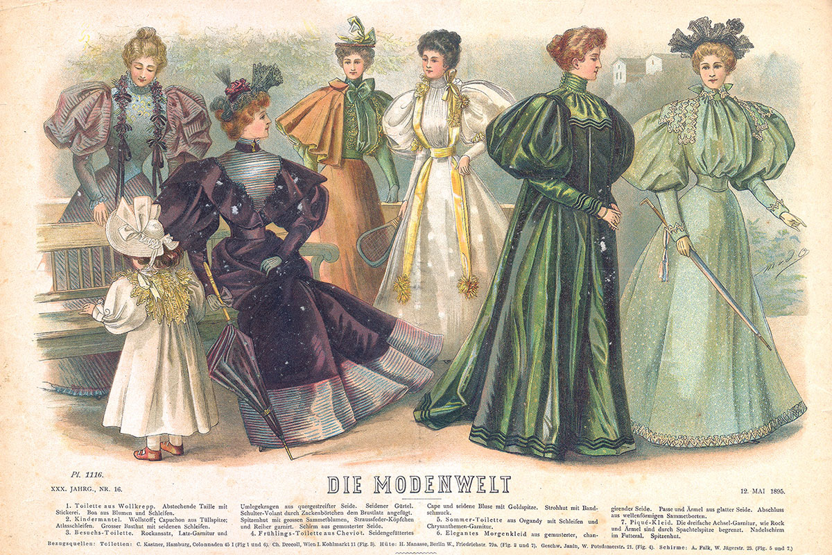 Fashion plate, Berlin, 12 May 1895