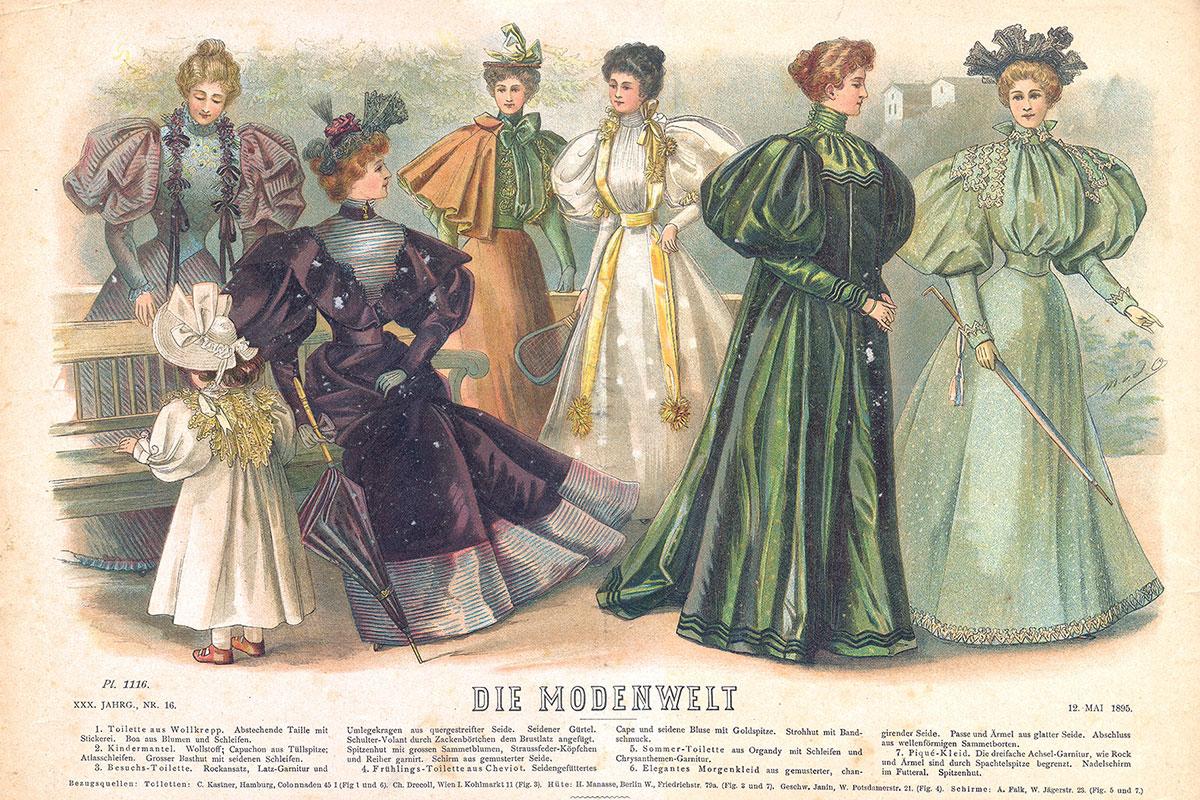 Modna ilustracija, 1895.