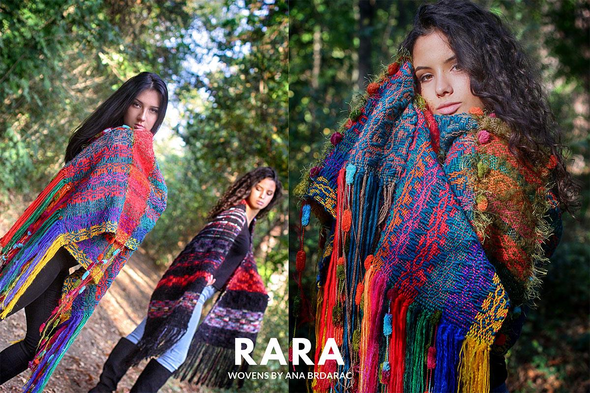 RARA wovens by Ana Brdarac