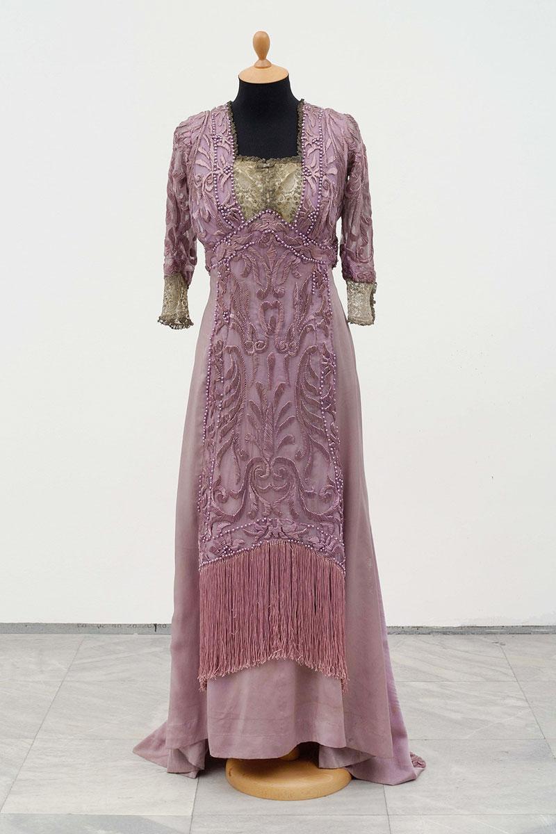 Veridbena haljina Elene Ristić, Francuska, Pariz, Modna kuća Redfern, 1909.