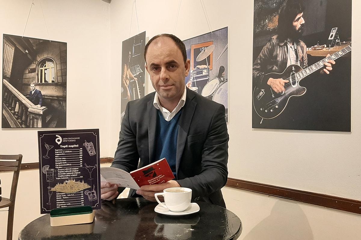 Bojan Pavlović, director of the City Tourism Organization of Kragujevac