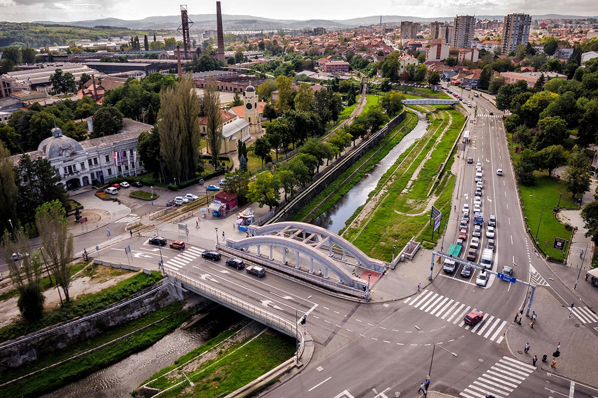 Kragujevac panoramic view