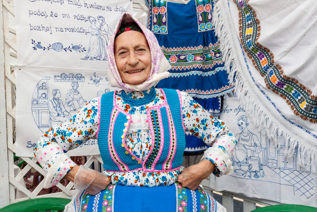 Nasmejana Slovakinja