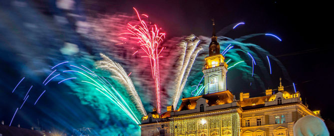 New Year's Eve in Novi Sad