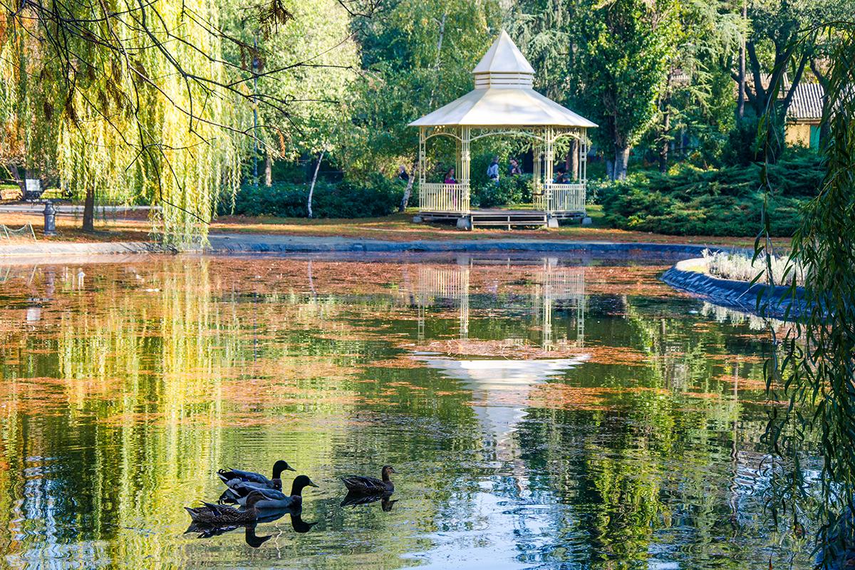 Novi Sad, Dunavski park