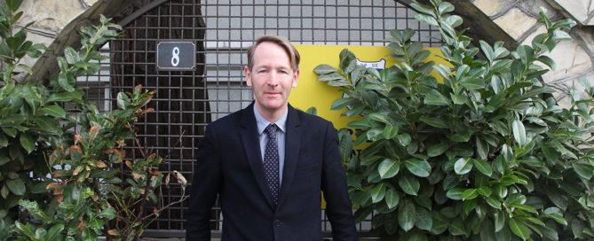 Paul Wade, Deputy Principal of the British International School in Belgrade